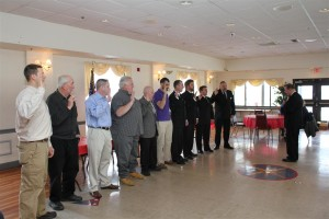 The 2014 Old Colony Officers were sworn in on Sunday January 19th, 2014