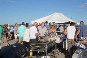 There was lots of choices of food for the members and guests of the OCYC including many visitors from other MBYCA members who arrived by boat
