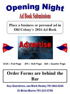 Opening Night Ad Book Submissions 2016